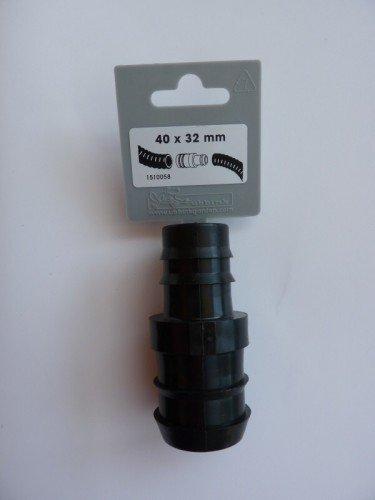 Ubbink - Raccord droit 32-40 mm - 1510058