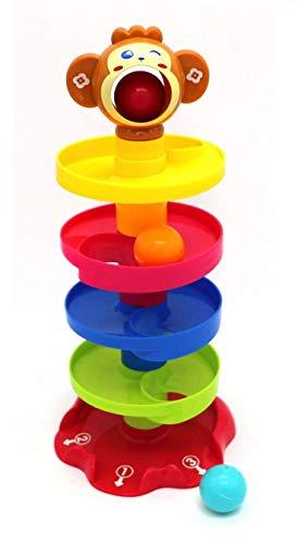 NSinc - Super Fun Monkey Ball Drop Tower for Kids Playtime