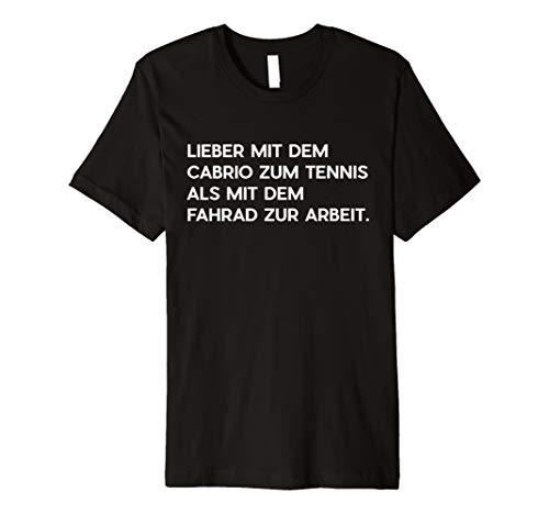 Mit dem Cabrio zum Tennis - Provokant und Witzig