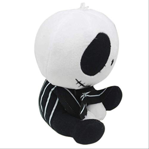 ToysforYou Heiligabend Horror Jack Plus Puppe, 20cm Teufel Schädel Streich Spielzeug Puppe, Halloween-Spielzeug pro (Halloween Puppe Streich)