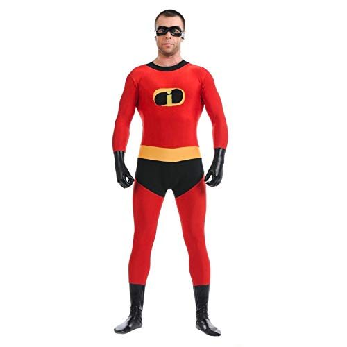 FYBR Incredibles Superskin Costume – Adulto Unisex Uomo e Donna seconda Pelle | Zentai Tutina Abbigliamento Outfit Halloween Lycra Cheap, M