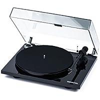 Pro-Ject Essential III Belt-drive audio turntable Negro - Tocadiscos (CC, 4,5 W, Negro, MDF, 420 mm, 330 mm)
