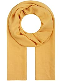 303ab1c7460da0 Majea Tuch Lima schmal geschnittenes Damen-Halstuch leicht uni einfarbig  dünn unifarben Schal weich Sommerschal