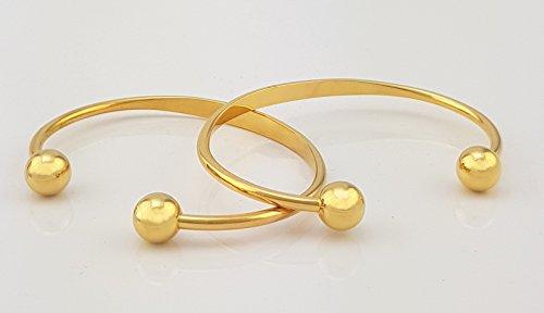 BIO Magnetic Bracele Durchmesser: 7 cm Kupfer goldfarben Magnetarmreif