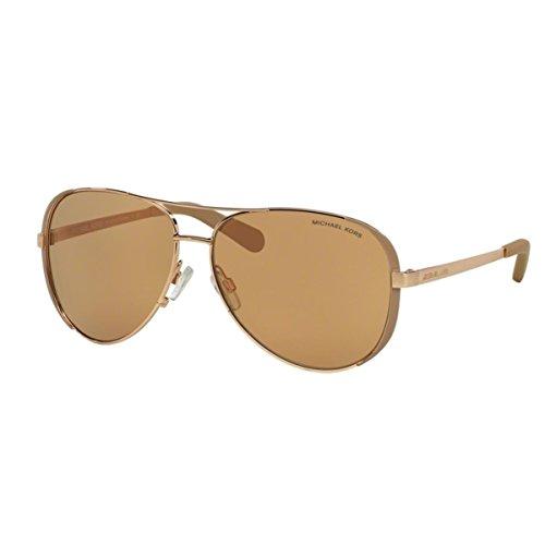 Michael Kors Damen Chelsea MK5004 Sonnenbrille, Rosa Taupe-roségold 1017R1), Large (Herstellergröße: 59)