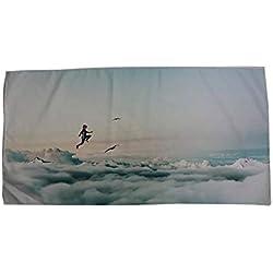 Easy Go Shopping Tapis de Couverture - Idéal pour Les Sports Bath Swim Camping Yoga Microfibre Travel Beach Serviette de Bain Bathroom Supplies (Taille : 80 * 160cm)