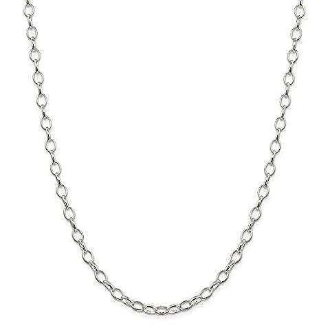 Sterling Halskette Silber Kette Rolo