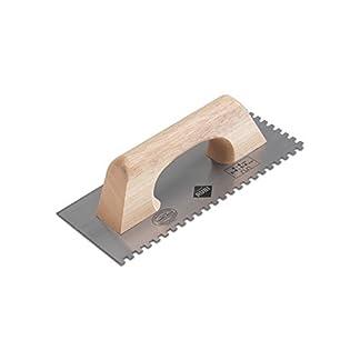 Rubi 65989 Peine de acero templado, Gris, 28 cm