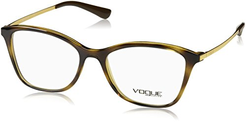 VOGUE Optical Frames Frame DARK HAVANA WITH DEMO LENS
