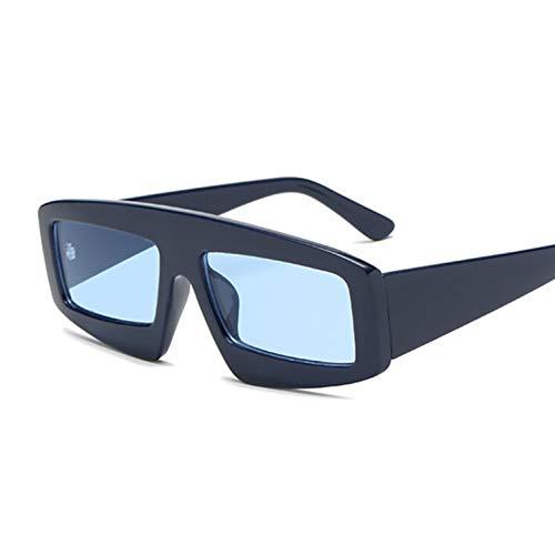 Kjwsbb Schild Sonnenbrille Frauen Vintage Square Sonnenbrille Big Frame Shades Eyewear UV400