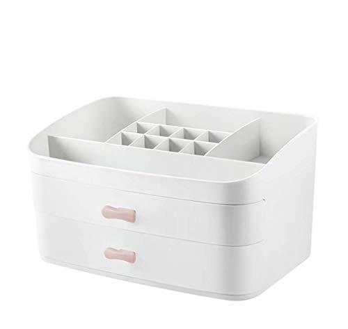 Zwq beauty scatola cosmetica multicolore, scaffale di finitura di grande capacità da tavolo per cassetti multi-strato, scatola per gioielli per la cura della pelle,c