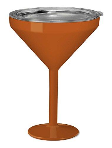 True North isoliert Martini Glas Sport Dark Orange