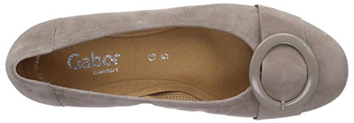 Gabor Shoes 22.6_Gabor Damen Geschlossene Ballerinas Grau (koala)
