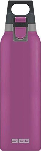 Sigg Vakuum-Isolierte Trinkflasche Hot und Cold One Berry, Vakuum-Isolierte Thermo-Flasche aus Edelstahl, 0.5 L, BPA Frei, Rosa, Rosa, 0.5 L, 8693.90