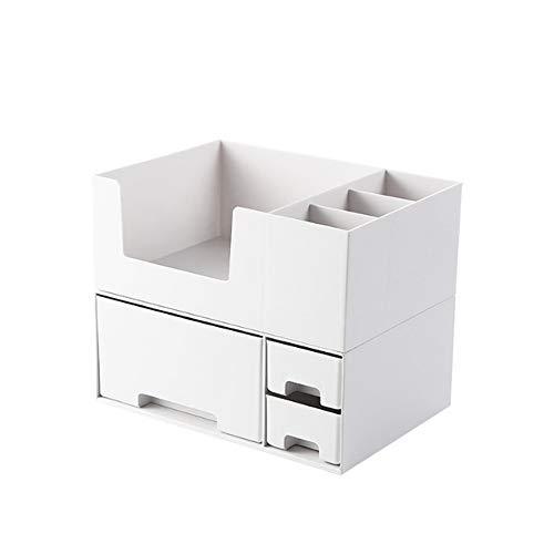 Aufbewahrungsbox für Schmuck Simple Design Cosmetic Organizer Makeup Display Ständer Halter Box Schmuck Parfüm Lippenstift Teiler Container Mit Schubladen Große Kapazität Für Kommode Schlafzimmer -