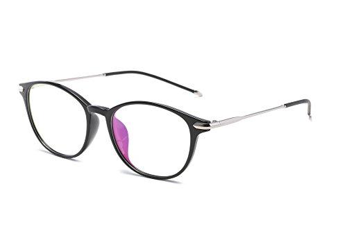 Embryform Neue runde Designer TR90 Brillen Rahmen mit klarem Objektiv