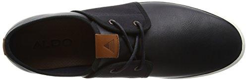 ALDO Hairedia, Baskets Basses Homme Noir (Black Leather / 97)