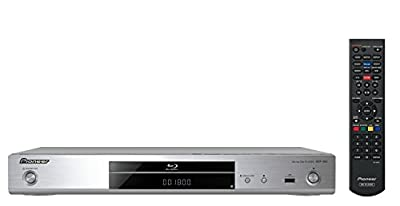 Pioneer BDP-180-K 3D Blu-ray Player with 4K Upscaling and Integrated Wi-Fi