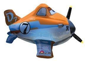 Amscan 26/66cm Disney AeroPlay Planes Folie Ballons Spielzeug (Disney Planes Folien Ballon)