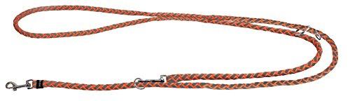 Kerbl 81083 Maxi Safe Führleine, 200 cm x 12 mm, neon orange - Abc Reiben