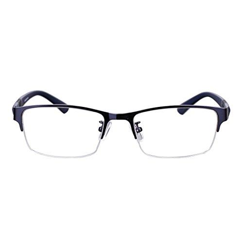 Aiweijia Myopie brillen Halbrahmen Nahe Sehenden Abstand Gläser Männer Stilvolle Brille
