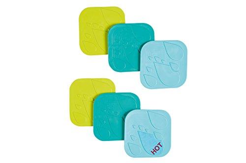 Safety 1st Anti-slip Bath Pads (Pack of 6)