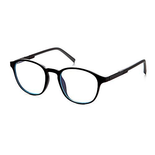 VECIEN Blaulicht filternde Computer brille, TR90 robuste Rahmen mit matte Oberfläche, Federscharniere für stilvolles Aussehen, Anti-Augenschmerzen/Kopfschmerzen Erhalten Sie geistige Befriedigung