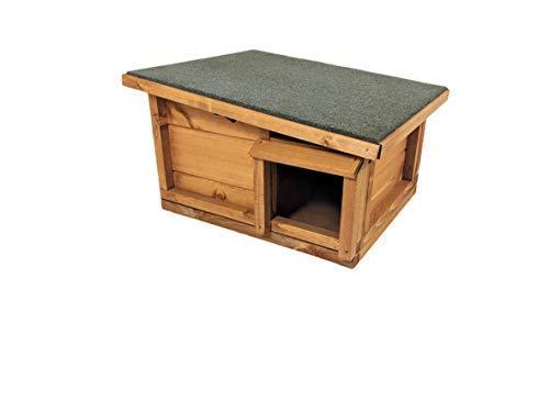 Die Hutch Company raubtiersichere Wohn- und Winterschlaf Herberge für Igel