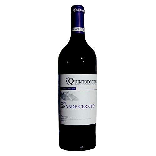 Vino Taurasi riserva Vigna Grande Cerzito DOCG rosso - Quintodecimo - Cartone da 6 Pezzi