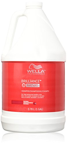 Wella Brilliance Shampoo Fine Normal Hair Gallon / 3790ml
