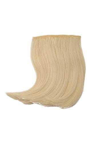 WIG ME UP - Clip-in Pony geschwungen gescheitelt hitzebeständig Faser Extension Haarverlängerung...
