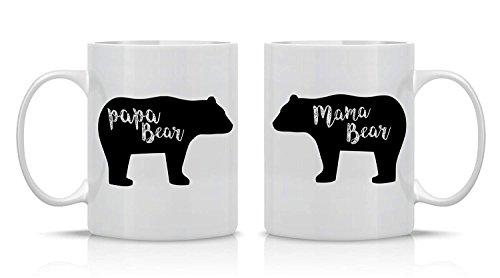 Mama And Bear Boyfriend For Funny BearPapa Coffee Wife Couple211oz Couples Girlfriend Husband Mugs Mug Set hQxtCBsrd