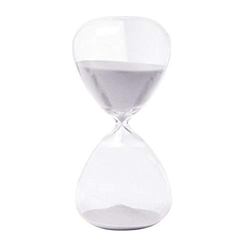 WDNMGBCO 5/30 Minutos Reloj de Arena Reloj de Arena para la Cocina Escuela Hora Moderna Vidrio Reloj de Arena Reloj de Arena Temporizadores de té Decoración para el hogar Regalo Creativo