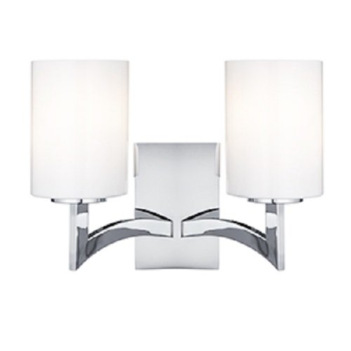 Searchlight-Gina-2-Light-Chrome-Finish-Wall-Light-Complete-with-Opal-Glass-Shades-4992-2CC