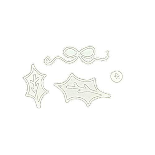 chablonen Schneiden Schablonen Papier Karten Sammelalbum Dekor, Metall Schneiden Schablonen für DIY Scrapbooking Album 0626089 ()