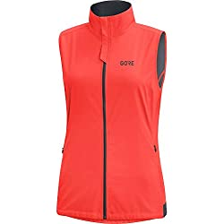 GORE WEAR R3 Gilet Femme, Lumi Orange, FR : XS (Taille Fabricant : 34)