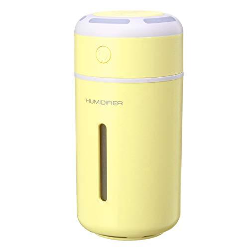 Wooya Ultraschall Ätherisches Öl Diffusor Aromatherapie Luftbefeuchter-Gelb