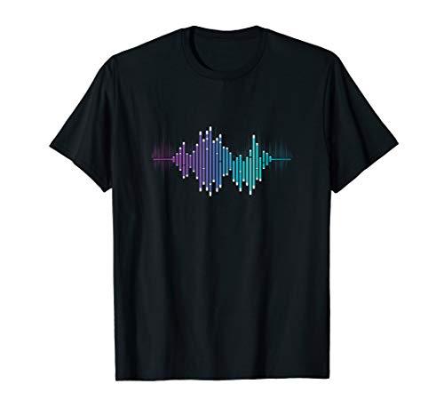 Toningenieur Audio Musik Equalizer Audiospezialist T-Shirt