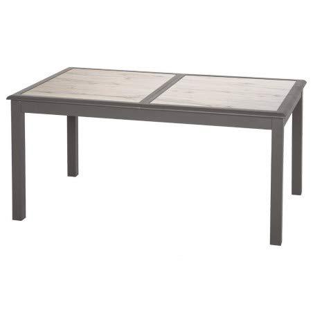 Hespéride Table Extensible Verre céram 10 p. Azua Tonka