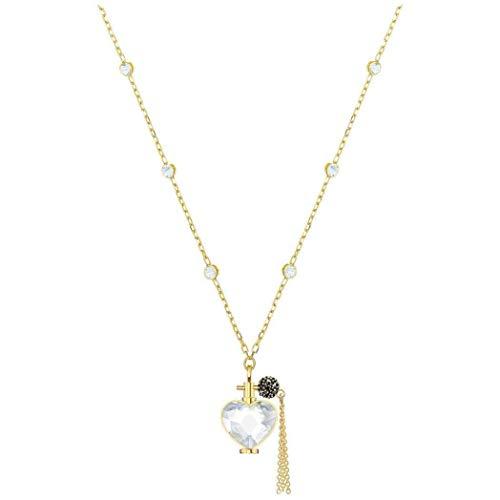 Swarovski collana con ciondolo donna placcato_oro - 5436707