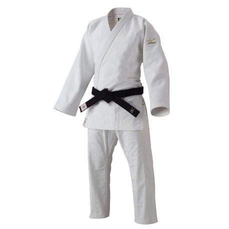 MIZUNO - Judogi Yusho Kimono Judo5A5101 Ijf 2020, Color Blanco, Talla 175