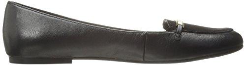 Bella Vita Thora étroit Cuir Chaussure Plate Black