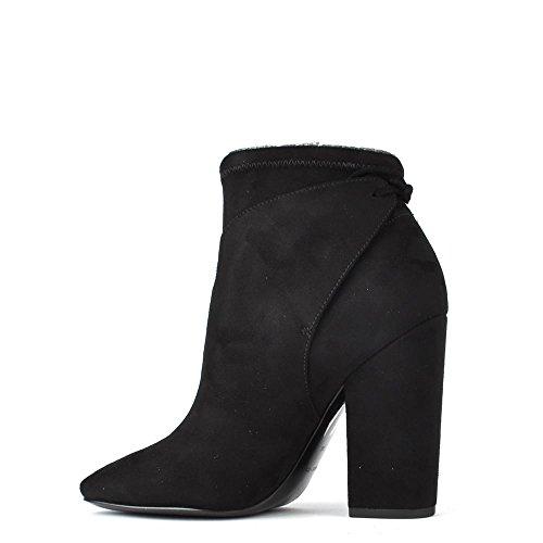 Kendall Kylie Zola Boots a Talon en Daim Femme Noir