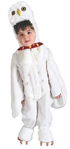 Potter Eule Harry Kostüm - Harry Potter Hedwig die Eule Kinderkostüm - 127-137