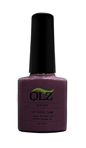 Kaga Nails Qlz Healthy soak off Gel nail polish, numero 047, lavanda pizzo