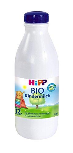 Hipp Kindermilch trinkfertig 2212, 6er Pack (6 x 1 l Packung) - Bio