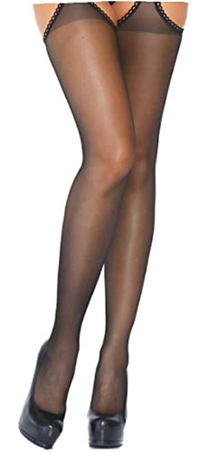 Naht Fischnetz-strumpfhose (Leg Avenue Damen Strumpfhose mit Öffnungen an der Seite und im Schritt schwarz Einheitsgröße ca. 36 bis 40)