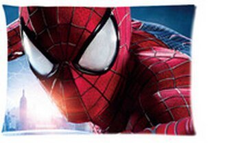 666PC The Amazing Spider-Man 2 Andrew Garfield Pillowcases Custom Cool Comfortable Pillow Case Copricuscini e federe (40cmx60cm)