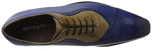 Melvin & Hamilton Lance 16, Chaussures à Lacets Homme Mehrfarbig (Crust China Blue(1,2), Powder(3) LS NAT.)