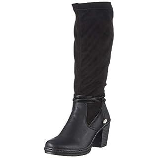 Rieker Damen Y1558 Hohe Stiefel, Schwarz (Schwarz 00), 40 EU